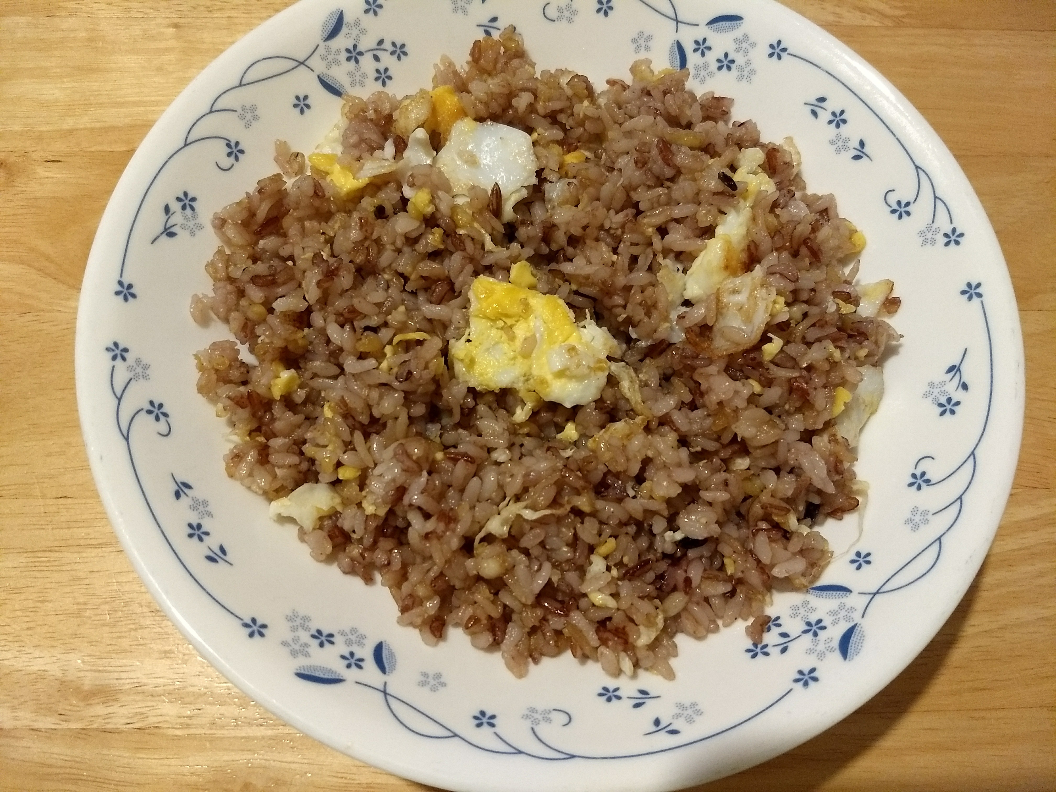 The super quick and easy egg fried rice