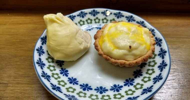 榴槤芝士撻durian cheese tarts