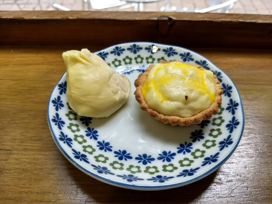 榴槤芝士撻durian cheese tarts